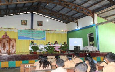 Pembukaan Kegiatan Pembinaan Iman Siswa Katolik SMPN 1 Insana